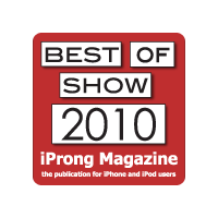 Best of Show 2010 iProng