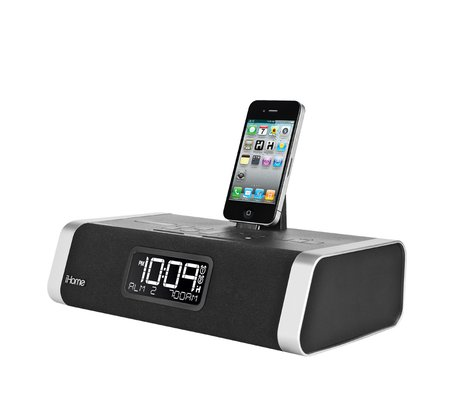 ihome id50 app enhanced bluetooth dual alarm stereo clock. Black Bedroom Furniture Sets. Home Design Ideas