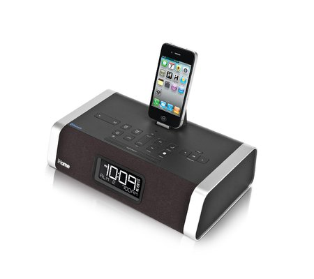 ihome id50 app enhanced bluetooth dual alarm stereo clock radio speakerphone. Black Bedroom Furniture Sets. Home Design Ideas