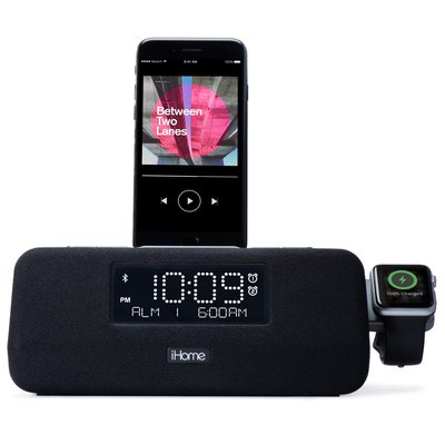best iphone alarm clock ihome iplwbt5 clock radio charger 13604