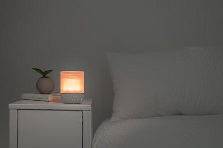 Ihome Izm100 Meditative Light Sound Therapy Candle