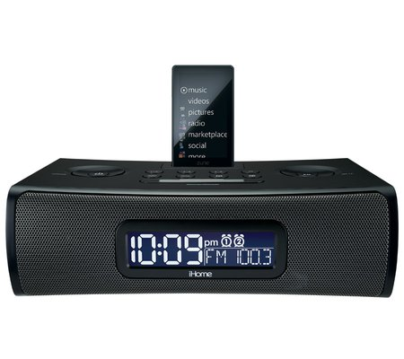 ihome zn90 dual alarm stereo clock radio for your zune and zune hd rh ihomeaudio com Kindle Fire User Guide Quick Reference Guide