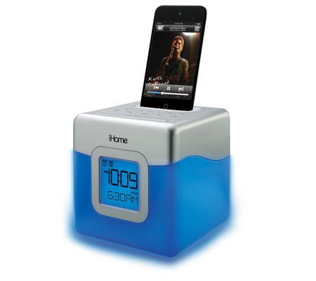 how to set time on ihome ih8