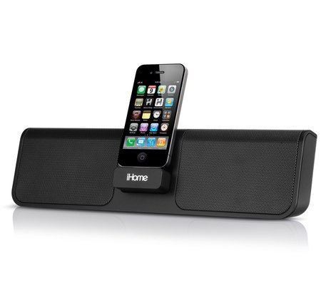 portable speakers for iphone ihome ip46 rechargeable portable stereo system for iphone 2814