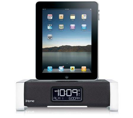 iA100, cargador, reloj y radio FM para iPAD 2