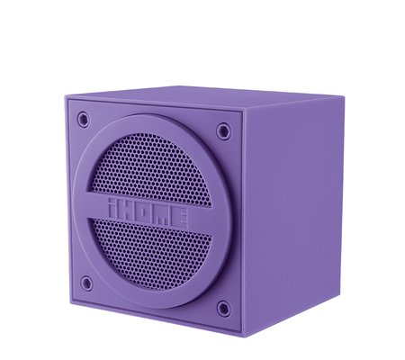 Ihome ibt16 bluetooth rechargeable mini speaker cube in for Ihome speaker