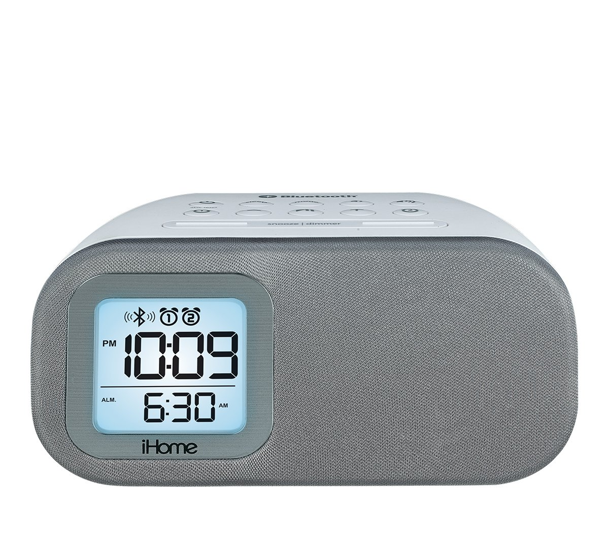 iHome iBT210 Bluetooth Dual Alarm FM Clock Radio