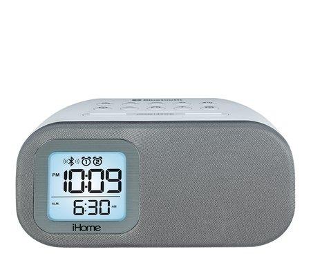 ihome ibt210 bluetooth dual alarm fm clock radio. Black Bedroom Furniture Sets. Home Design Ideas