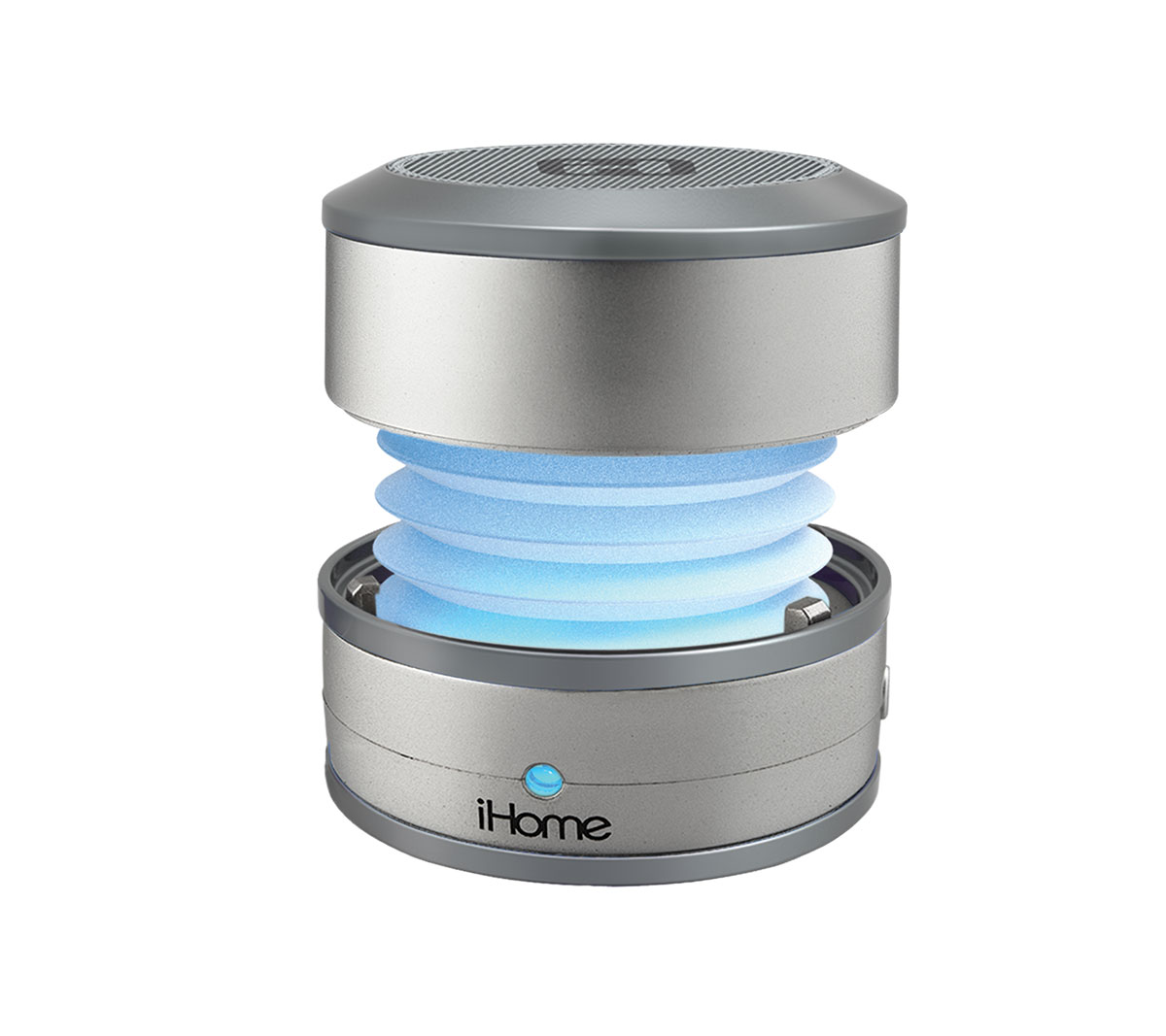 iHome IBT59 Bluetooth Wireless Rechargable Speaker CHANGING COLORS music only