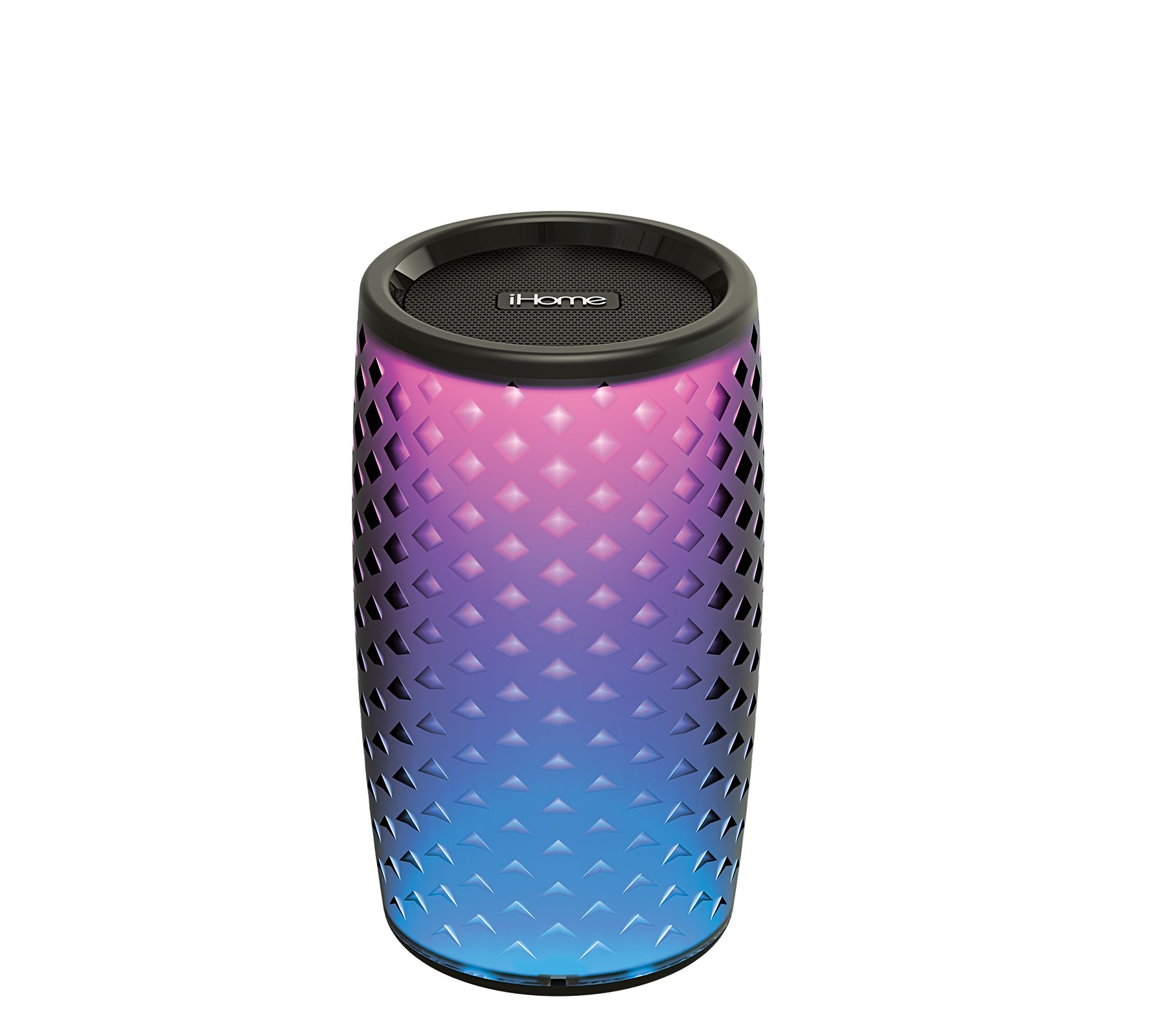iHome iBT10 Color Changing Bluetooth Rechargeable Speaker System