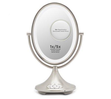 Ihome Icva66 9 Quot Alexa Enabled Double Sided Vanity Mirror