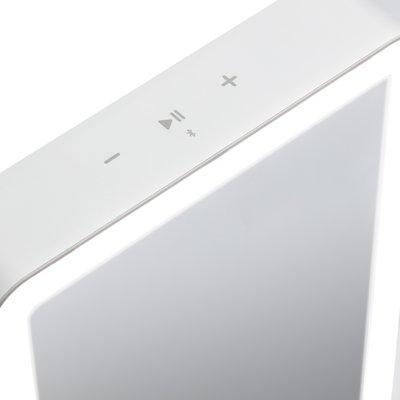 Ihome Icvbt1 Portable Lighted Bluetooth Vanity Mirror