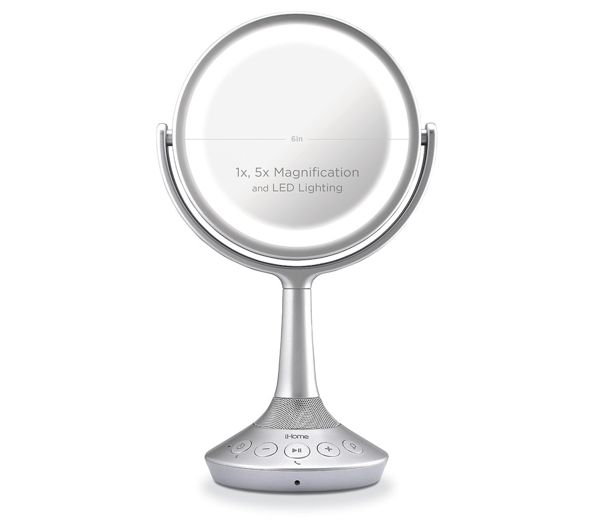 Ihome Icvbt5 6 Quot Double Sided Vanity Speaker