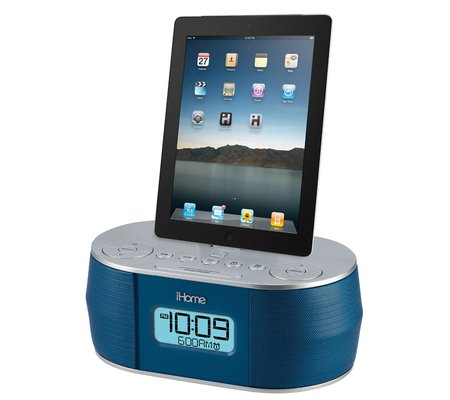 iHome iD38 App Enhanced Stereo System with Dual Alarm FM Clock Radio