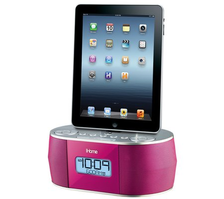 ihome id38 app enhanced stereo system with dual alarm fm clock radio for your ipad iphone ipod. Black Bedroom Furniture Sets. Home Design Ideas