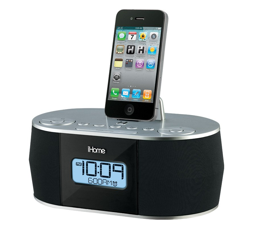 iHome iD38 App Enhanced Stereo System with Dual Alarm FM