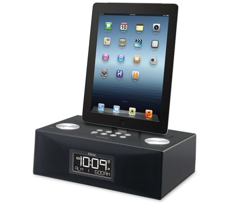 ihome id83 app enhanced dual alarm stereo clock radio for. Black Bedroom Furniture Sets. Home Design Ideas