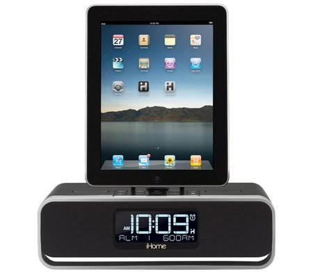 ihome id91 app enhanced dual alarm stereo clock radio for your iphone ipod ip. Black Bedroom Furniture Sets. Home Design Ideas