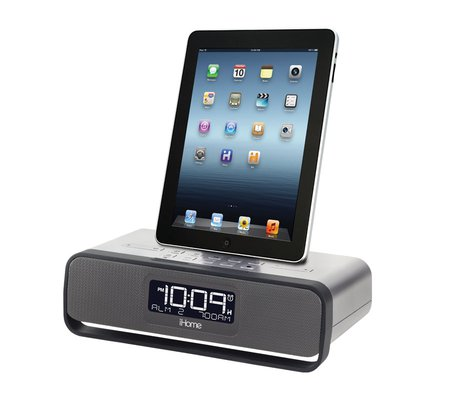 ihome id91bzc app enhanced dual alarm stereo clock radio for your iphone ipod ebay. Black Bedroom Furniture Sets. Home Design Ideas