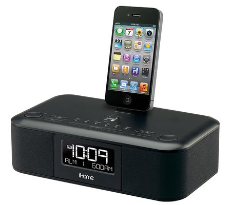 ihome id95bzc dual alarm clock radio for ipad iphone and. Black Bedroom Furniture Sets. Home Design Ideas