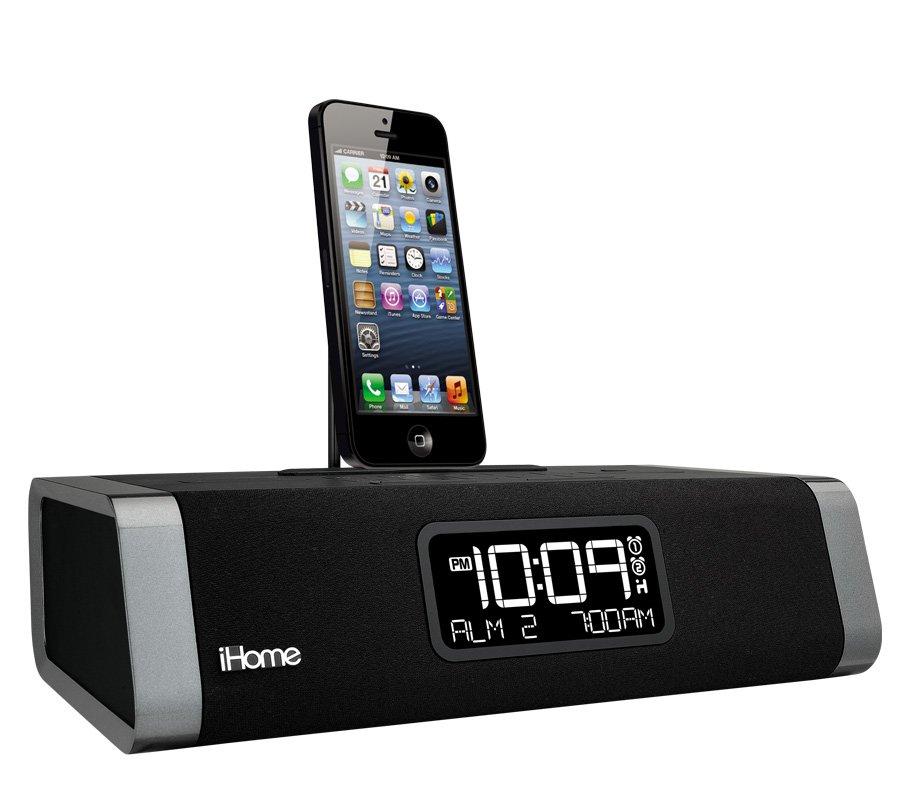 iHome iDL45 Dual Charging Stereo FM Clock Radio with