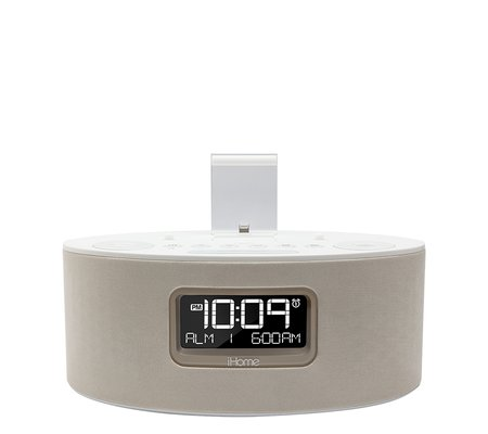 ihome idl46 dual charging stereo fm clock radio with lightning dock and usb c. Black Bedroom Furniture Sets. Home Design Ideas
