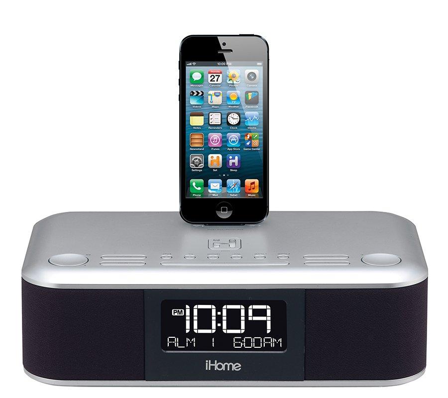 iHome iDL95 Dual Charging Stereo FM Clock Radio with