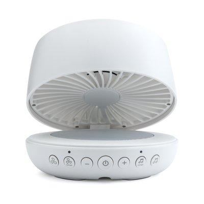 Ihome Air Personal Fan With Built In White Noise Sound