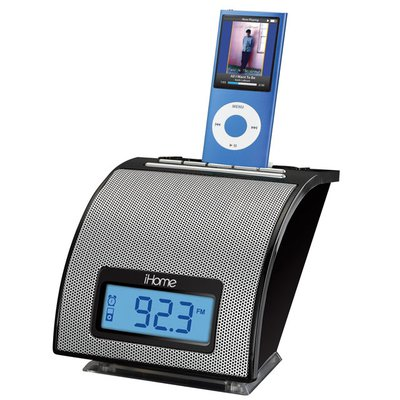 ihome ih110 alarm clock with fm radio for your ipod rh ihomeaudio com iHome Glowing Orb Manuals iHome iPod Docking Station