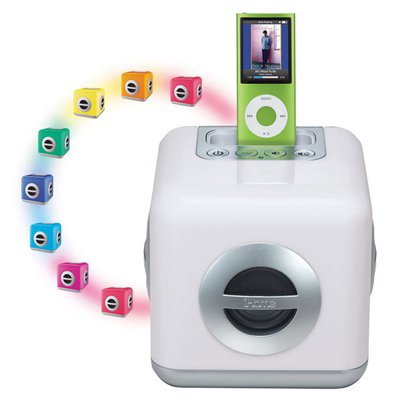 iHome iH15 LED Color Changing Stereo System with Built-in ...