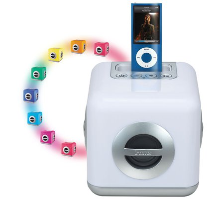 Ihome Ih15 Led Color Changing Stereo System With Built In