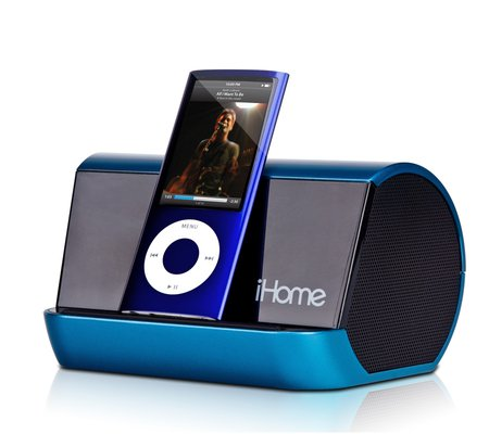 Ihome Ihm10 Portable Mp3 Player Stereo Speaker System