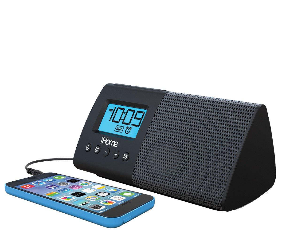 ihome ihm46 portable usb charging dual alarm clock speaker system rh ihomeaudio com