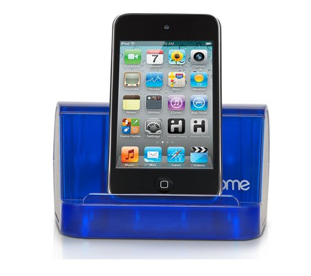 ihome ihm9  quot crystaltunes quot  portable speaker system for your ipod  mp3 player iHome Alarm Clock iHome Alarm Clock