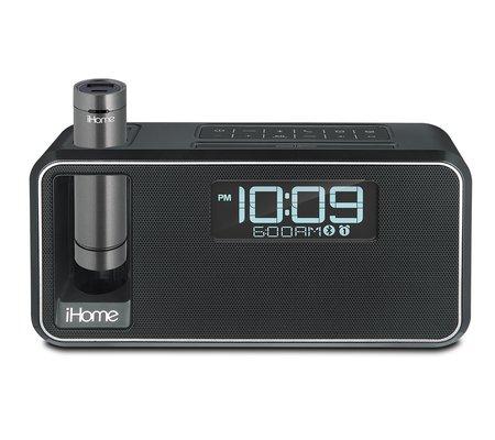 ihome ikn105 dual charging bluetooth stereo alarm clock radio speakerphone with nfc portable. Black Bedroom Furniture Sets. Home Design Ideas