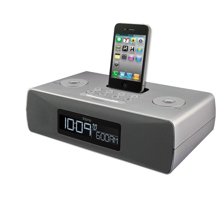 iHome iP87 Dual Alarm Clock Radio for iPhone/iPod with AM/FM