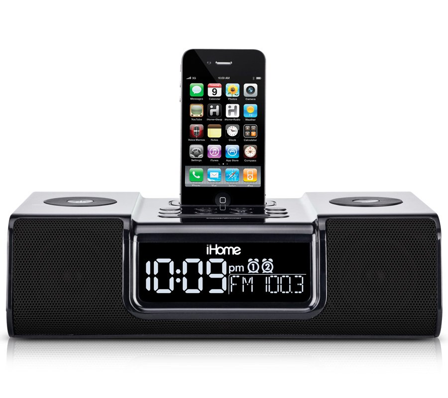 ihome ip9 clock radio audio system for iphone ipod rh ihomeaudio com iHome Instruction Manual iH9 iHome Docking Station User Manual