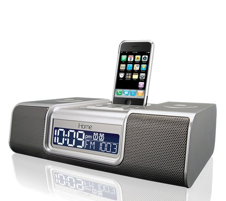 ihome ip9 clock radio audio system for iphone ipod rh ihomeaudio com iH5 iHome Docking Station Manual iHome iH8 User Manual