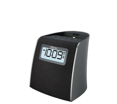 ihome ipl22 lightning clock radio for iphone ipod. Black Bedroom Furniture Sets. Home Design Ideas