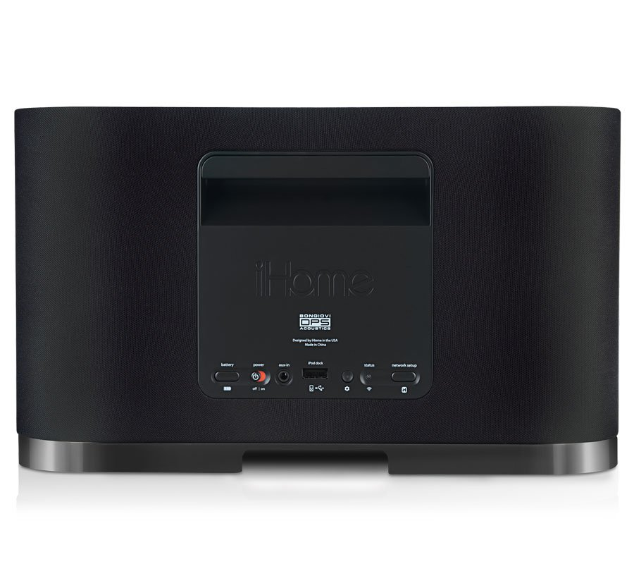 airplay speakers iw1 from ihome rh ihomeaudio com iHome iPod Docking Station iHome Glowing Orb Manuals