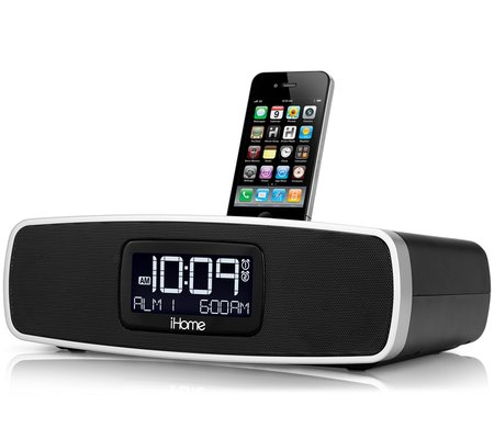 ihome clock radio ihome ip90 dual alarm clock radio for your iphone ipod 12010