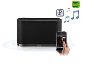Wireless music control
